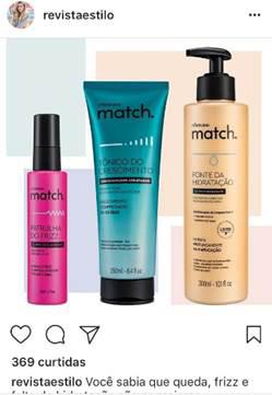 Produtos da Linha Match