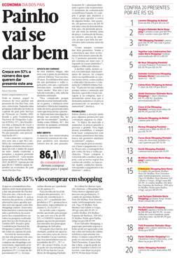 Destaques dos Produtos em Jornais